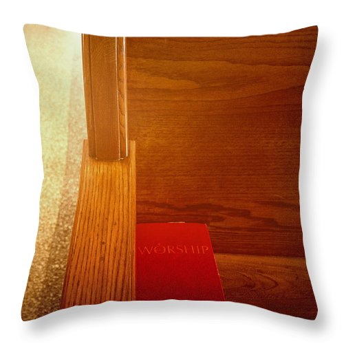 Bible Throw Pillow featuring the photograph Prayer by Margie Hurwich