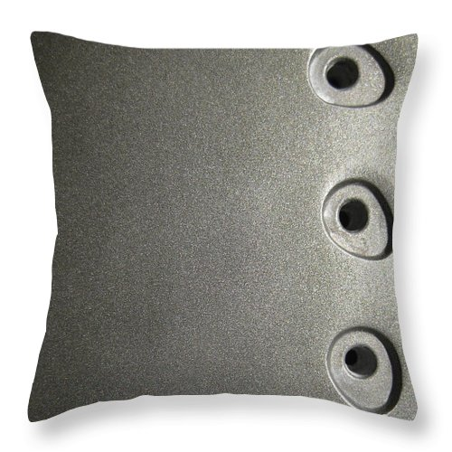 Hot Throw Pillow featuring the photograph Press by Eric Canuel