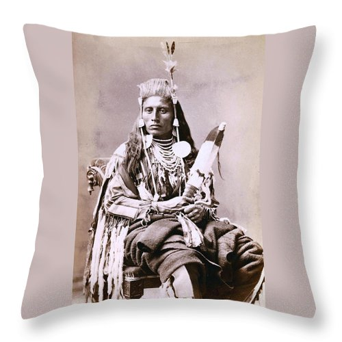 Prince Crow Throw Pillow featuring the digital art Prince Crow by Stucio Photo