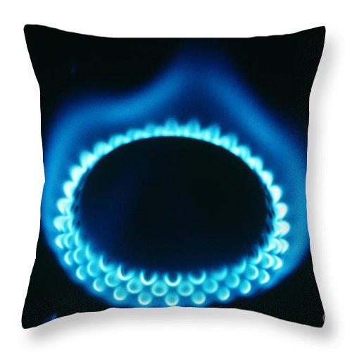Propane Throw Pillow featuring the photograph Propane Burner by ER Degginger