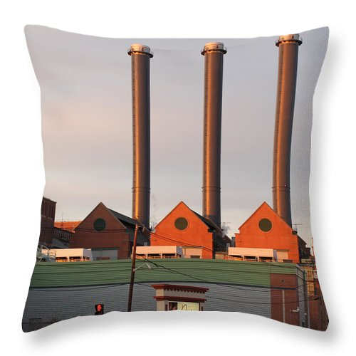 Providence Throw Pillow featuring the photograph Providence Desire by Beth Johnston
