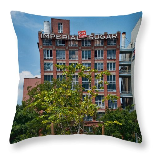 Wright Throw Pillow featuring the photograph Pure Cane by Paulette B Wright