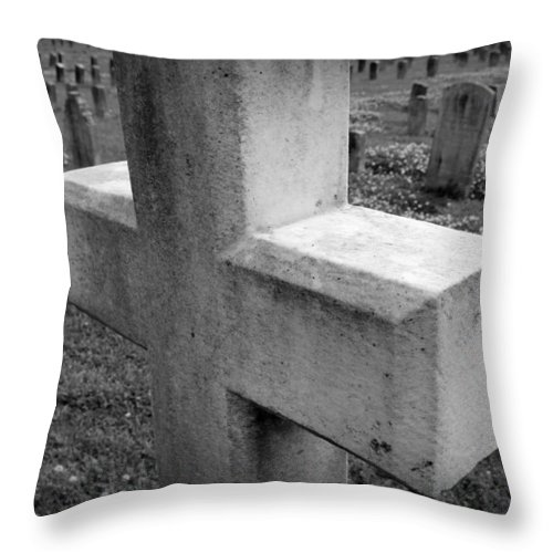 Rip Throw Pillow featuring the photograph R I P by Beth Vincent