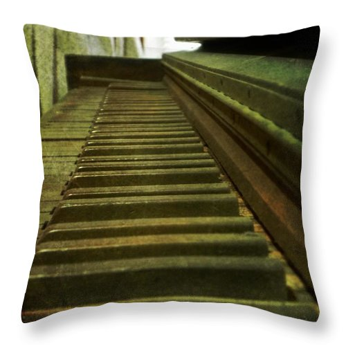 Office Throw Pillow featuring the photograph Ragtime by Leah Moore