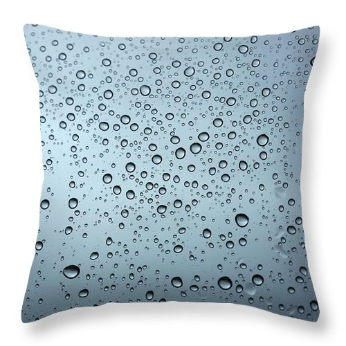 Horizontal Throw Pillow featuring the photograph Rainy Day Out by Nigel Killeen
