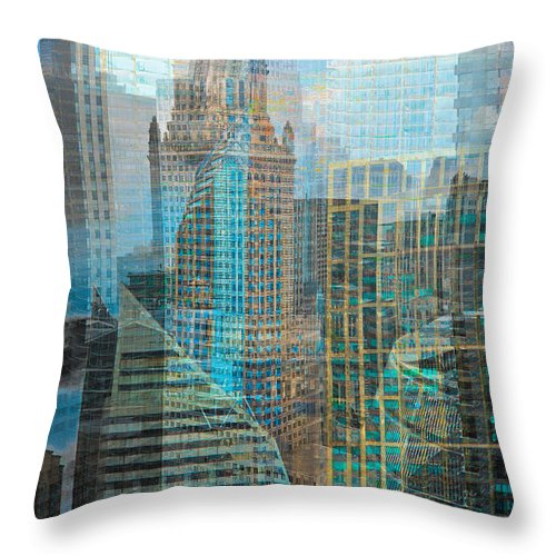 ©kevin Eatinger Throw Pillow featuring the photograph Rebuilding Landscapes 2 by Kevin Eatinger