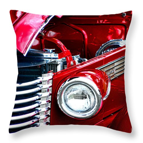 1938 Throw Pillow featuring the photograph Red Devil by Olivier Le Queinec