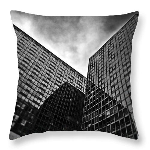 Digital Throw Pillow featuring the photograph Reflections Alt by Kevin Eatinger