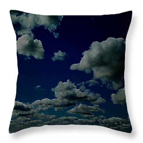 Photo Throw Pillow featuring the digital art Regret by Jeff Iverson