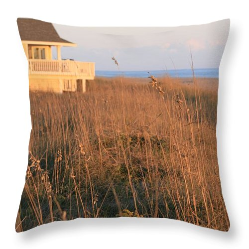 Relaxation Throw Pillow featuring the photograph Relaxation by Nadine Rippelmeyer