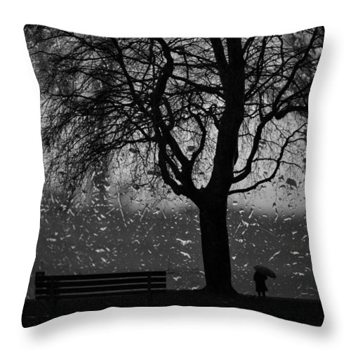 Vancouver Throw Pillow featuring the photograph Remembering Him by The Artist Project