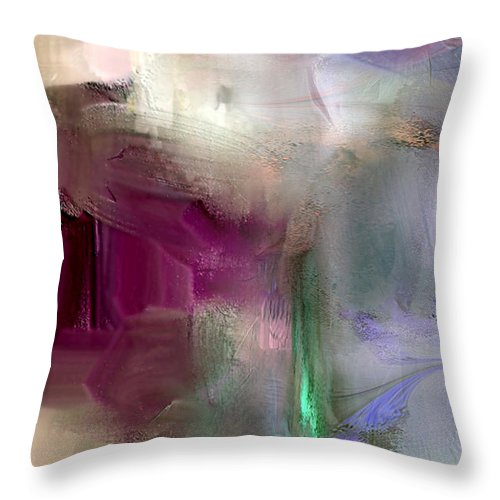 Shape Throw Pillow featuring the digital art Reveletion Of Evening by Davina Nicholas