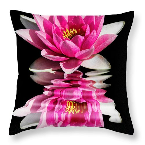 Ripples In Time Throw Pillow featuring the photograph Ripples In Time by Kasia Bitner