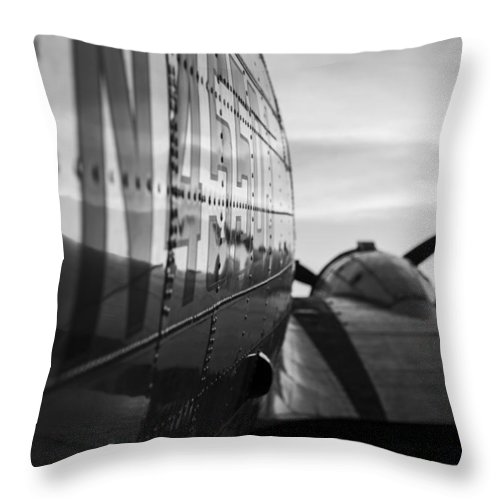 Landscapes Throw Pillow featuring the photograph Riveted by Amber Kresge