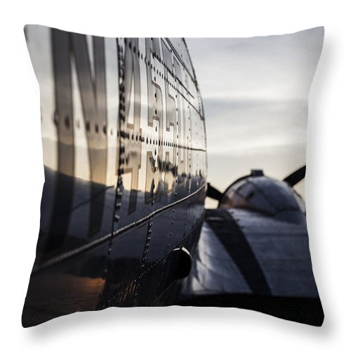 Landscapes Throw Pillow featuring the photograph Riveting Sunrise by Amber Kresge