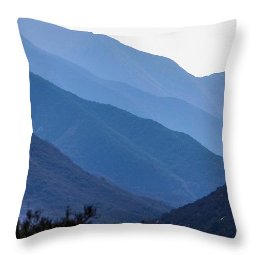 Rolling Hills Throw Pillow featuring the photograph Rolling Hills by Robert Aycock