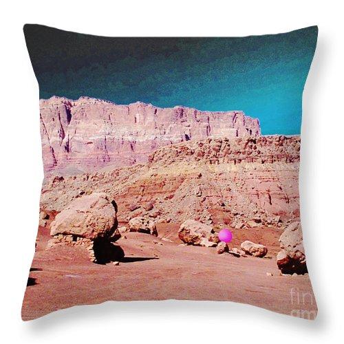 Digital Throw Pillow featuring the photograph Rolling Rockin' Roger by Lizi Beard-Ward
