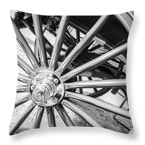 Horse Throw Pillow featuring the photograph Round And Round by Colleen Coccia