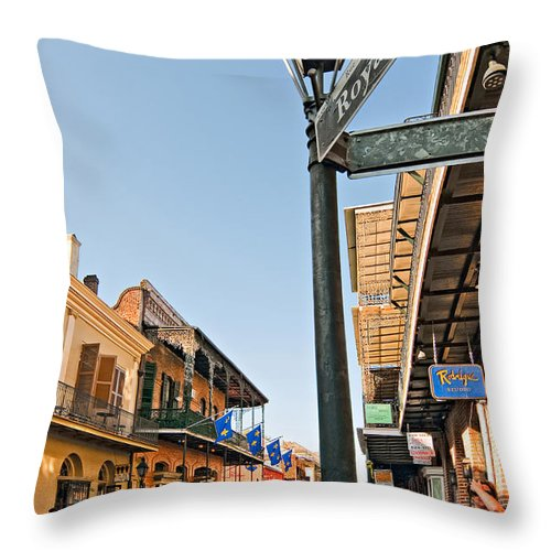 Nola Throw Pillow featuring the photograph Royal Afternoon by Steve Harrington