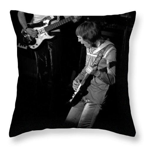 Robin Trower Throw Pillow featuring the photograph Rt #13 by Ben Upham