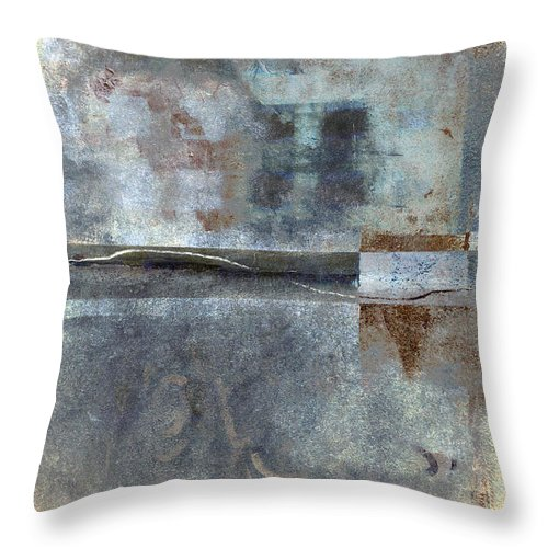 Rust Throw Pillow featuring the photograph Rust And Walls No. 1 by Carol Leigh