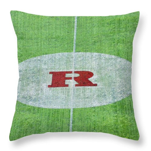 Rutgers Throw Pillow featuring the photograph Rutgers College Camden New Jersey by Bill Cannon