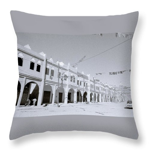 Africa Throw Pillow featuring the photograph Sahara by Shaun Higson