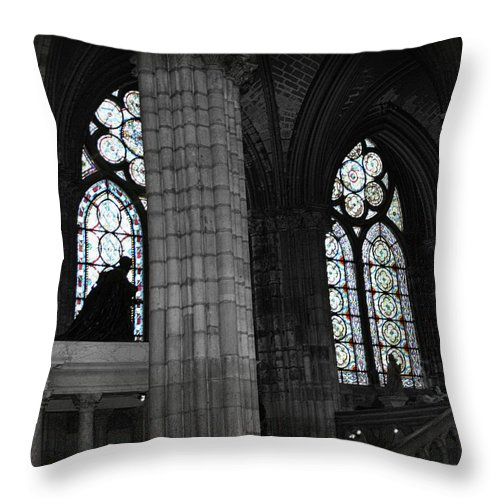 Sanctuary Throw Pillow featuring the photograph Sanctuary by Diana Haronis
