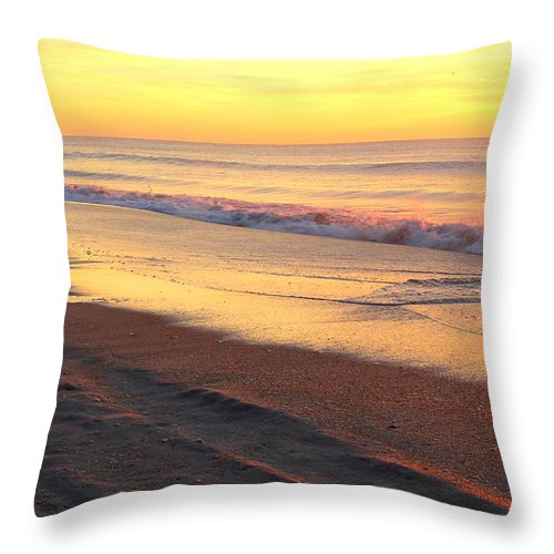 Topsail Throw Pillow featuring the photograph Remains Of Summer by Rand Wall