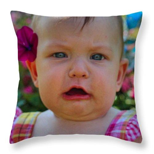 Sarah Throw Pillow featuring the photograph Sarah_3935 by Joseph Marquis