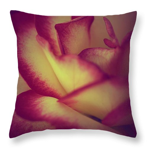 Roses Throw Pillow featuring the photograph Saved By Grace by The Art Of Marilyn Ridoutt-Greene