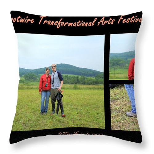 Scientists Rw2k14 Throw Pillow featuring the photograph Scientists Rw2k14 by PJQandFriends Photography