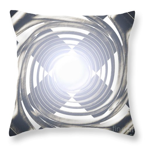 Look Throw Pillow featuring the digital art Screaming For Attention by Joe Russell