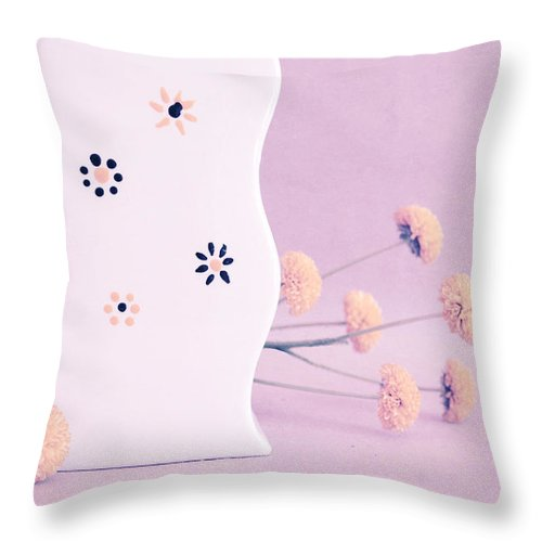 Purple Throw Pillow featuring the photograph Scurves - S03acr01 by Variance Collections