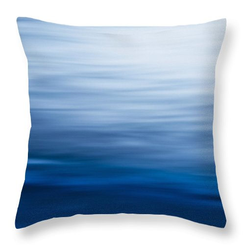 Abstract Throw Pillow featuring the photograph Sea Of Love by Debi Bishop
