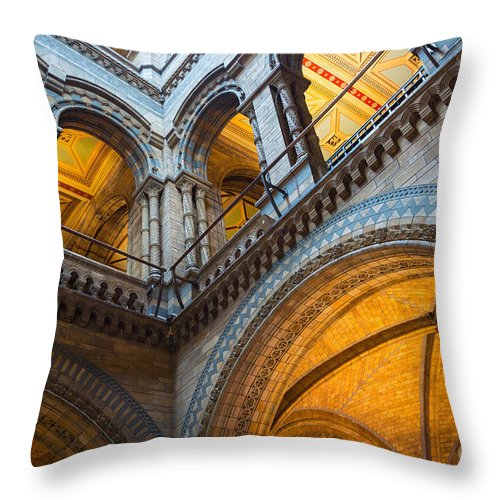 Britain Throw Pillow featuring the photograph Second Story by Inge Johnsson
