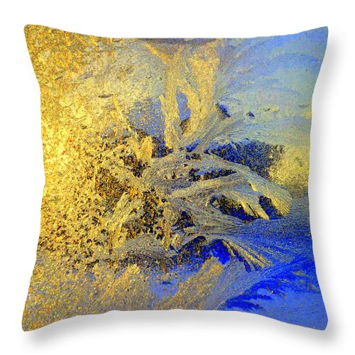 Window Throw Pillow featuring the photograph I Can See My Vision, But Can You by Hilde Widerberg