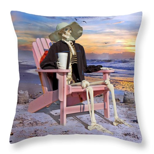 Human Throw Pillow featuring the photograph Seeing Is Believing by Betsy Knapp