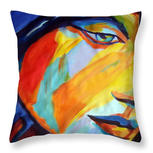 Art Throw Pillow featuring the painting Sentiment by Helena Wierzbicki