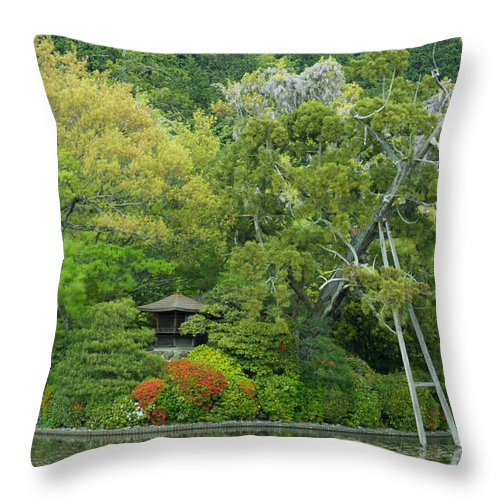 Japan Throw Pillow featuring the photograph Serenity by Jonah Anderson