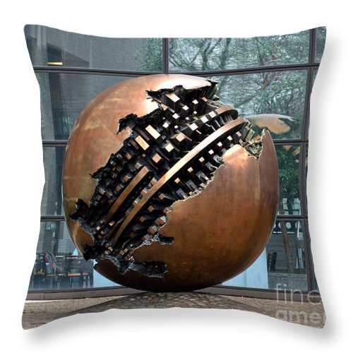 Sfera Grande In Mount Sinai Hospital Throw Pillow For Sale By Ricardmn Photography