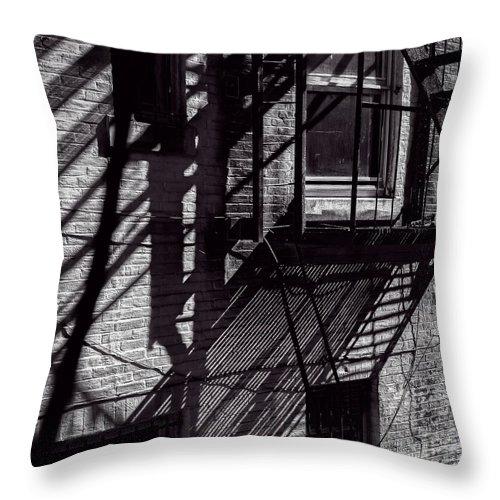 Shadow Throw Pillow featuring the photograph Shadows by Bob Orsillo