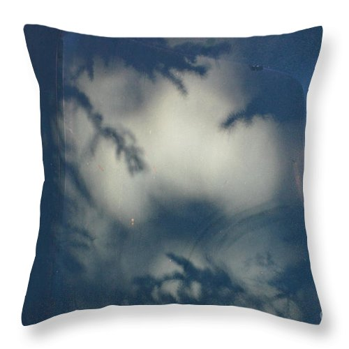 Shadow Throw Pillow featuring the photograph Shadowy Figures In The Hood by Brian Boyle