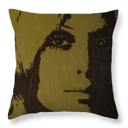 Sharon Throw Pillow featuring the painting Sharon by Darlene Fernald