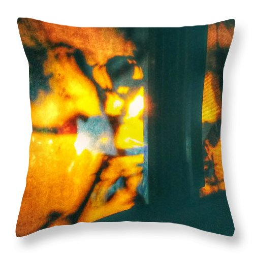 Window Throw Pillow featuring the photograph She Comes Back by Ashley Cook