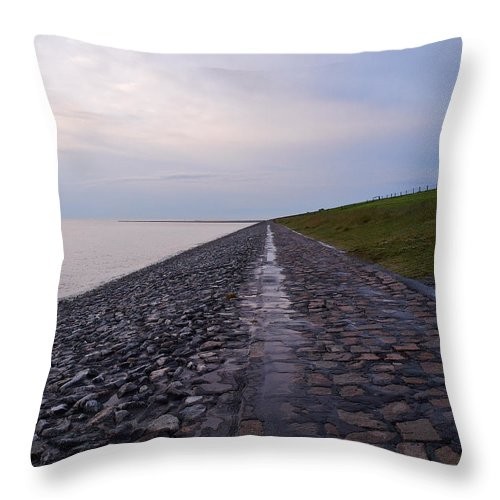 Lehto Throw Pillow featuring the photograph Shore by Jouko Lehto