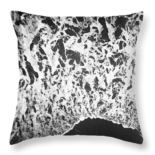 Tranquility Throw Pillow featuring the photograph Shoreline by Phuong Nguyen