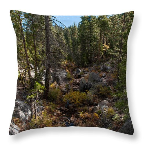 Sierra Nevada Throw Pillow featuring the photograph Sierra Nevada by Wim Slootweg