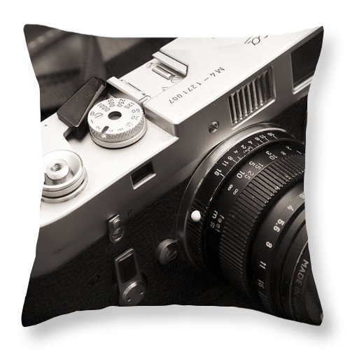 Simplicity At Its Finest Throw Pillow featuring the photograph Simplicity At Its Finest by John Rizzuto