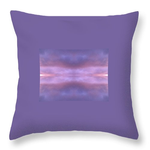 Abstract Throw Pillow featuring the photograph Skyscape by Candee Lucas